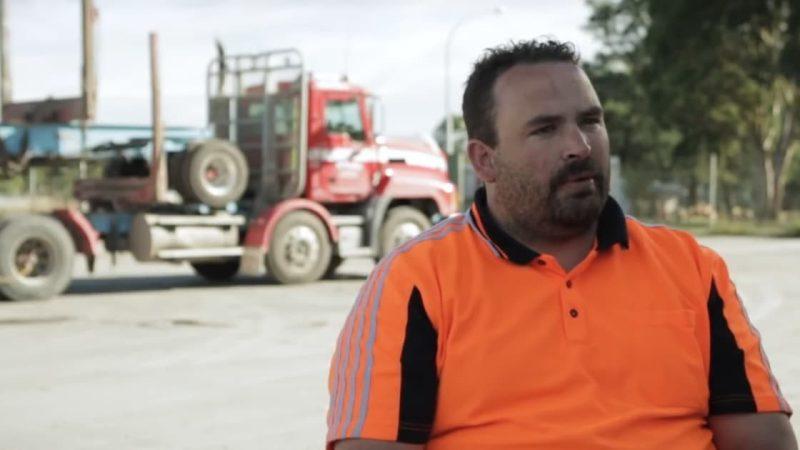 Fatigued log transport drivers and sleep apnoea