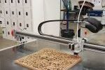 3D printing using timber waste products