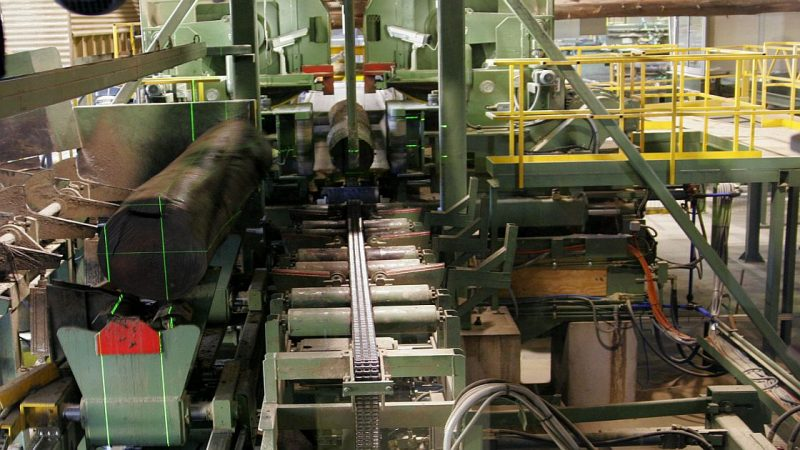 Sawmill machine alignment focus in September