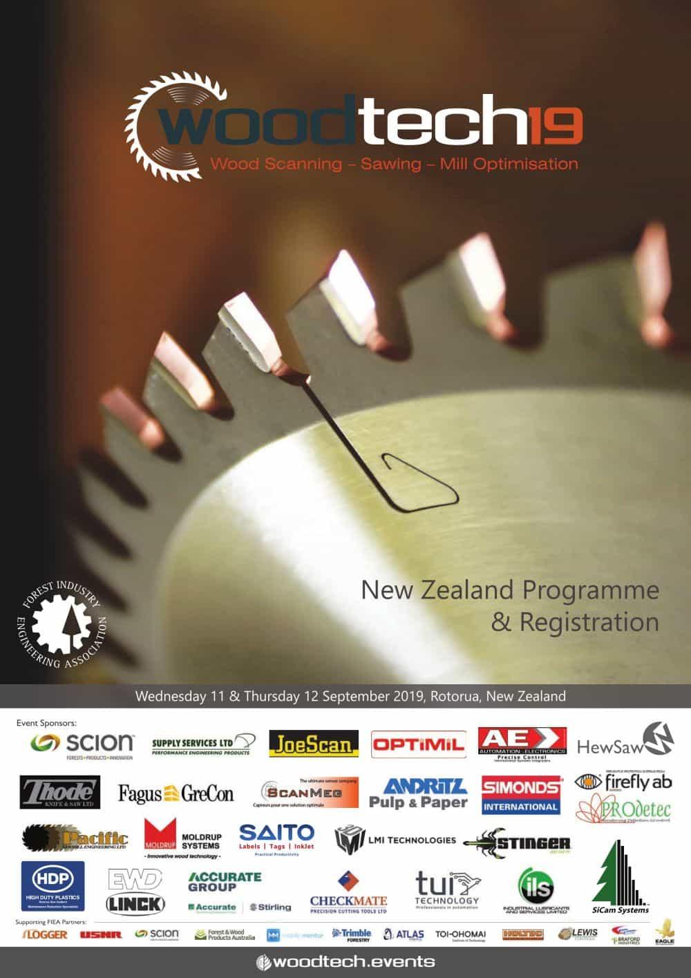 New Zealand WoodTECH 2019 Programme