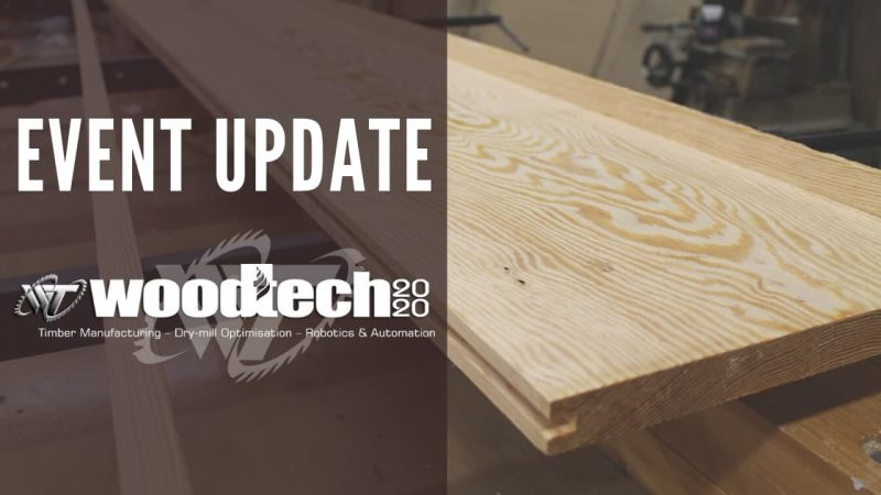 Changes to WoodTECH 2020
