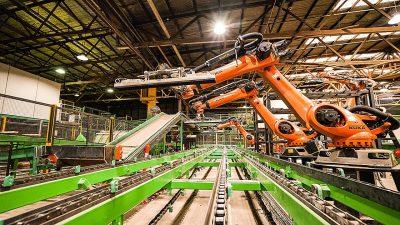 Operation deployment of robotics in Australasian mills