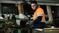 Timber Machining apprentices thriving