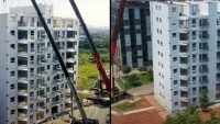 10-story high-rise built in just one day